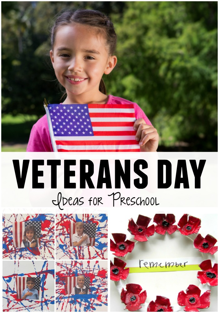 Veterans Day Ideas for Preschoolers