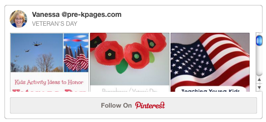 Veterans Day Pinterest Board