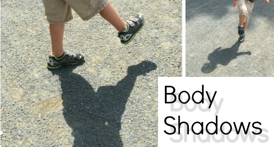 Science for Kids: Body Shadows