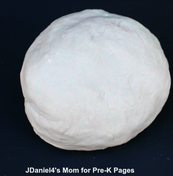 gray play dough moon activity