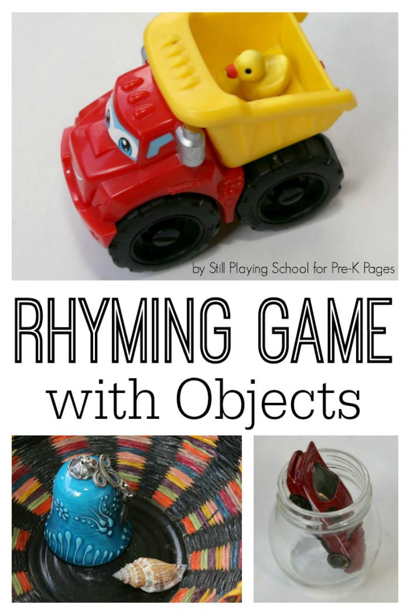 rhyming game for preschool