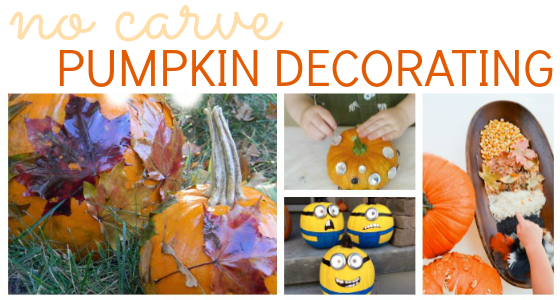 pumpkin decorating no carve