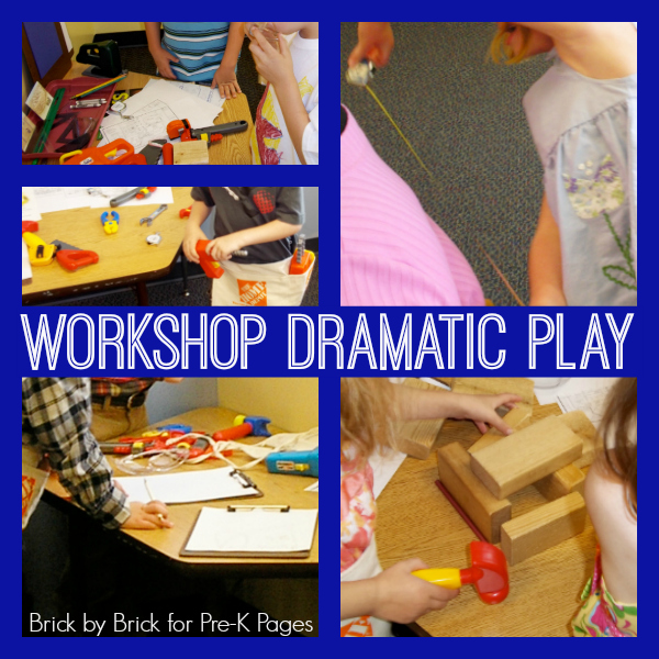 workshop dramatic play prek