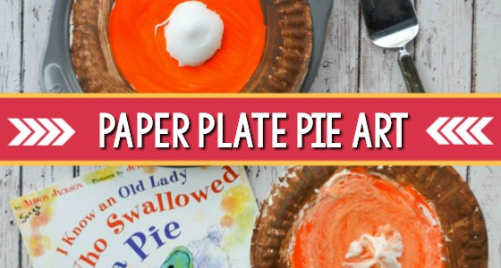 Paper Plate Pumpkin Pie Craft