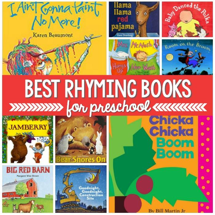 Best Rhyming Books for Preschool Kids