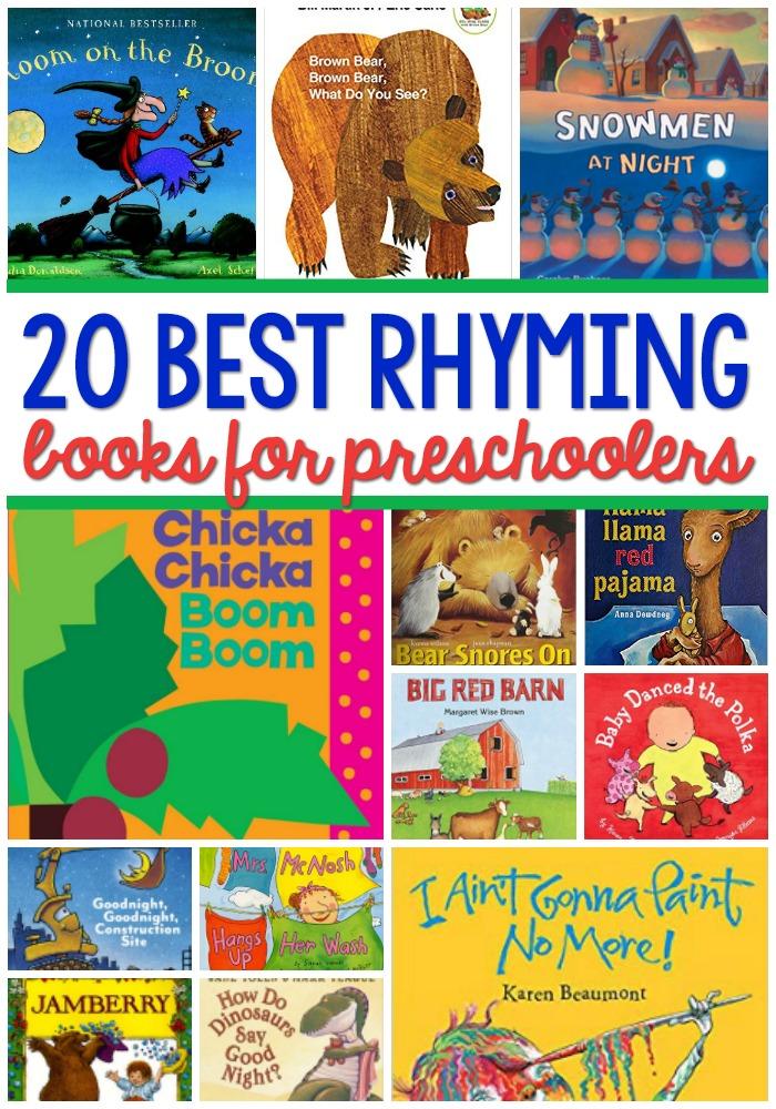 Best Rhyming Books for Preschoolers