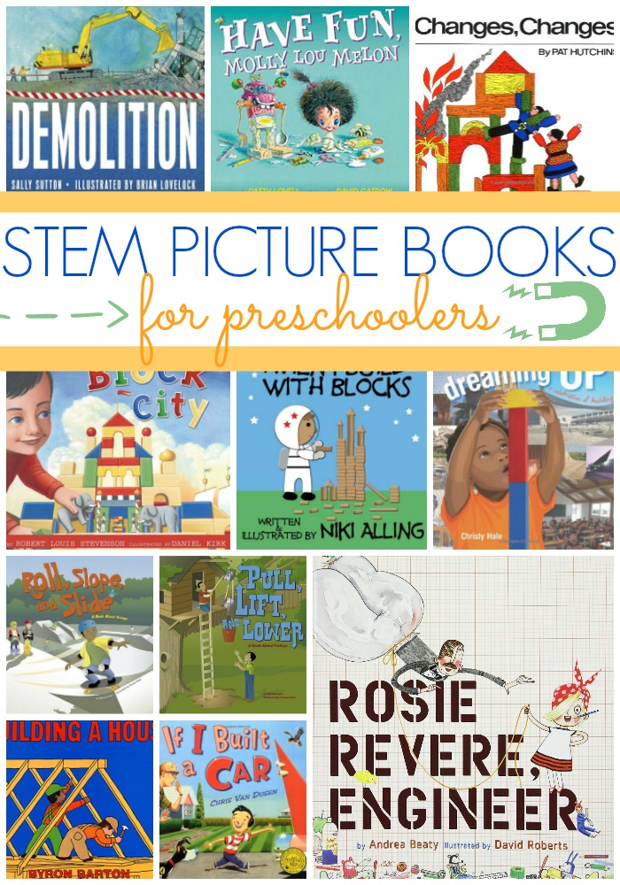 Best STEM Books for Preschoolers