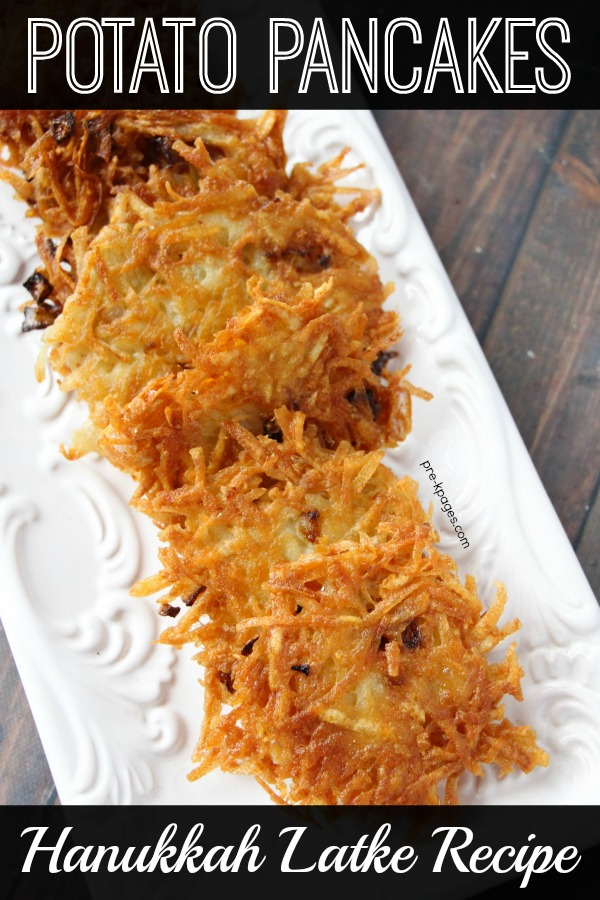 Hanukkah Latke Recipe How to Make Potato Pancakes