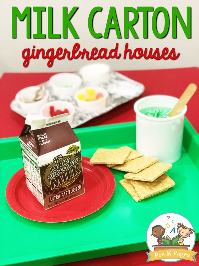 How to Make Gingerbread Houses with Milk Cartons