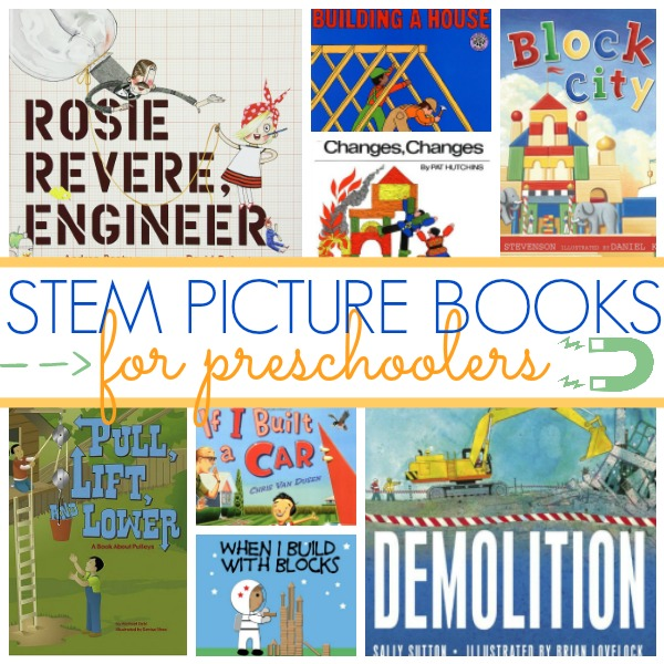 STEM Books for Preschool