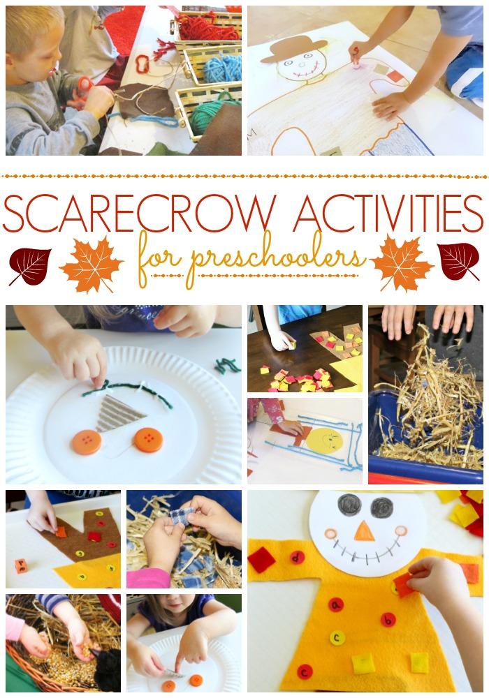 Scarecrow Activities for Preschool
