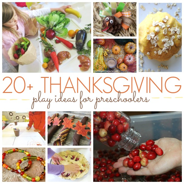 20 Playful Thanksgiving Ideas for Preschool Kids