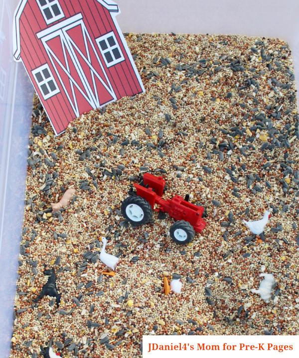 barn tractor bin