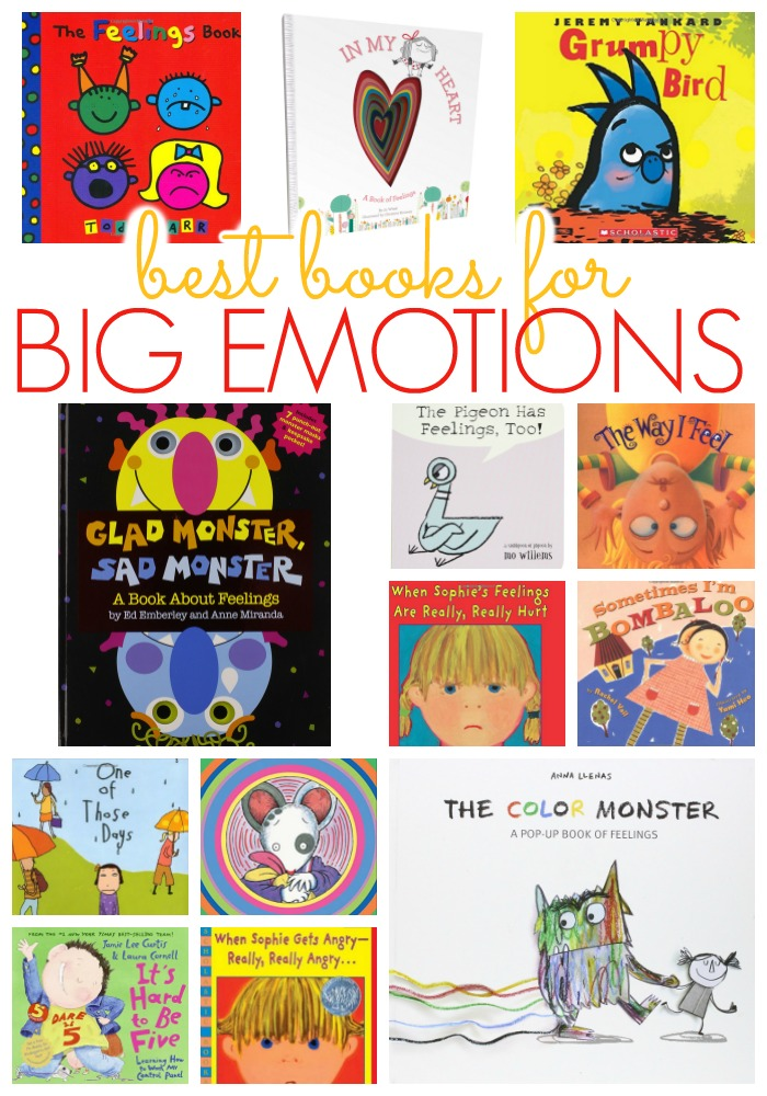 Best Books About Big Emotions and Feelings for Kids