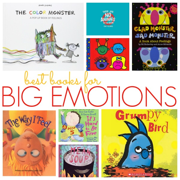 Best Books About Big Emotions for Preschool