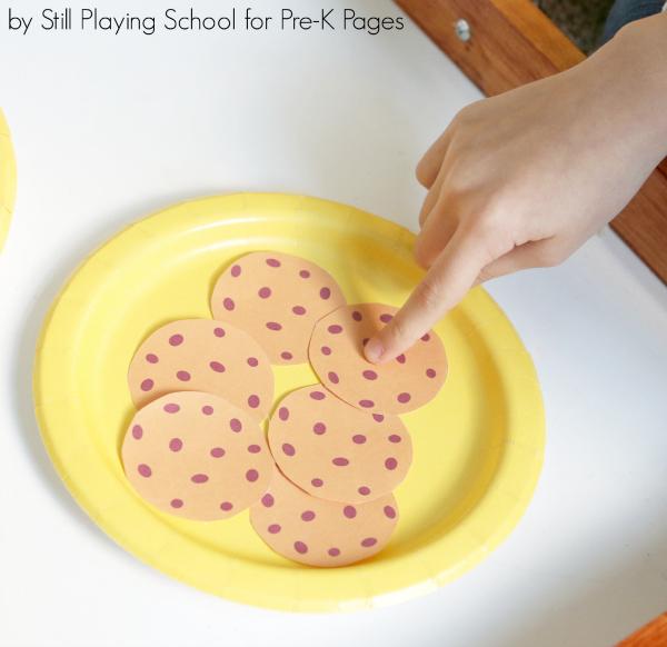counting preschool activity