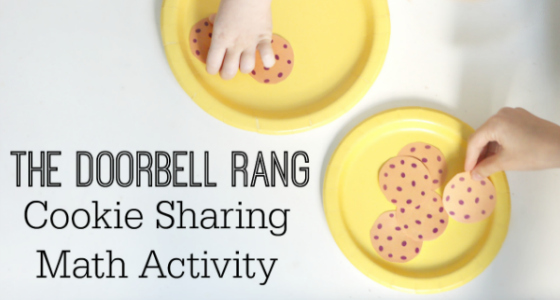 Preschool Math Exploration with The Doorbell Rang