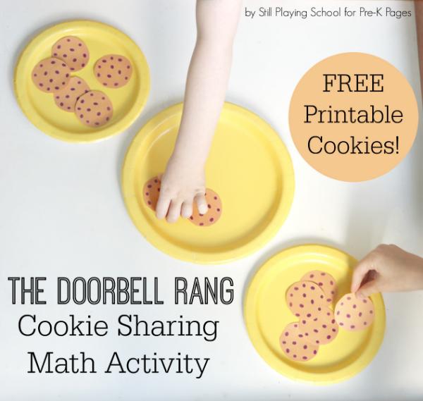 doorbell rang math activity pre-k