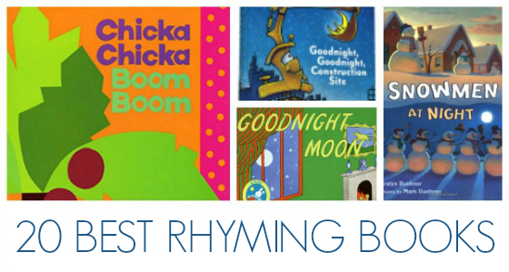Best Rhyming Books for Preschoolers