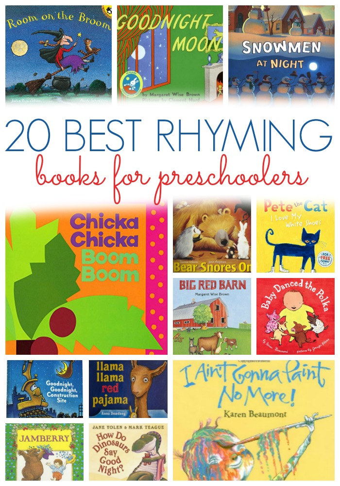 Best Rhyming Books For Preschoolers Pre K Pages