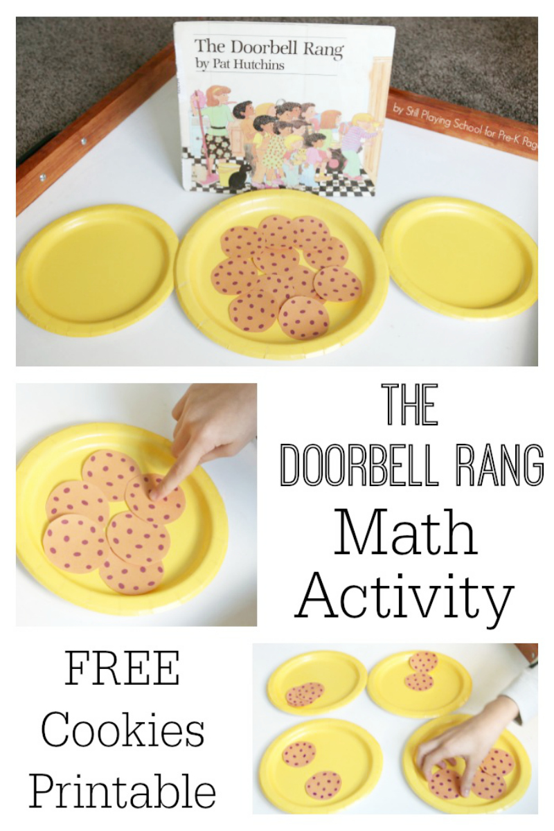 doorbell rang book activity preschool