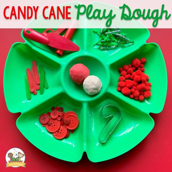 Candy Cane Play Dough