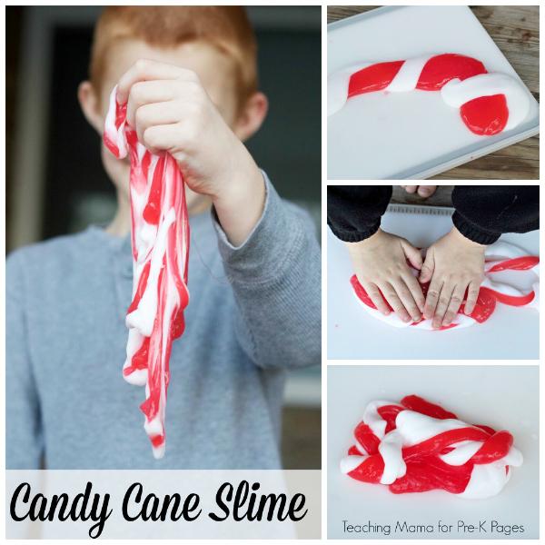 candy cane slime pre-k