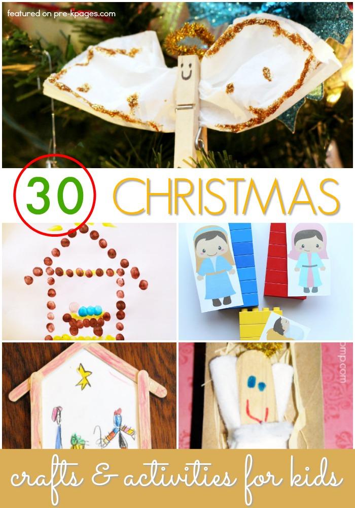 Christmas Crafts and Activities for Preschoolers