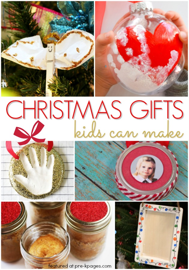 Christmas Gifts Kids Can Make