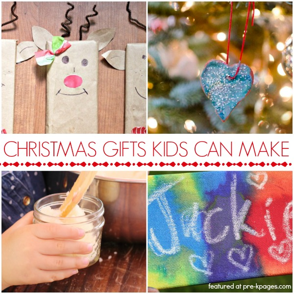 Christmas Gifts Preschoolers Can Make - Pre-K Pages