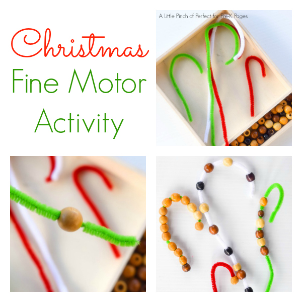 christmas fine motor activity pre-k