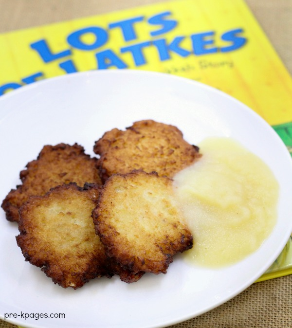 Latke Recipe to go along with the book Lots of Latkes