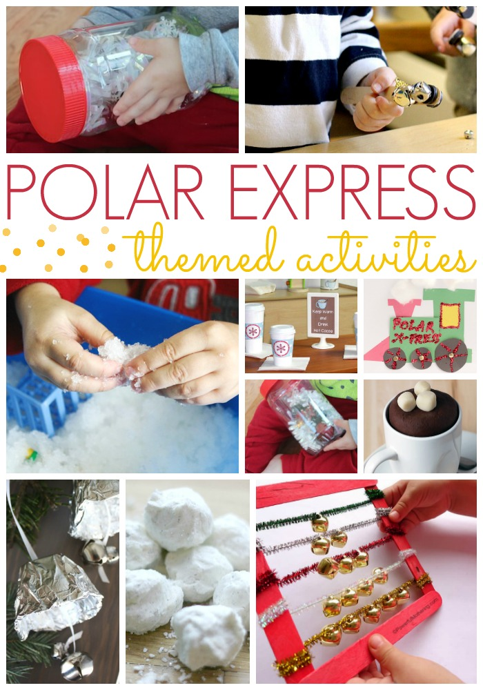 Polar Express Activities for Preschool