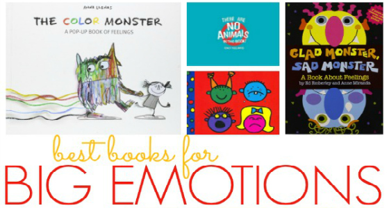 Books About Emotions for Preschool