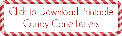 graphic regarding Printable Candy Cane called Letter Popularity Sweet Cane Match - Pre-K Internet pages