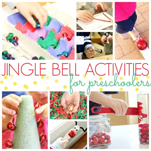 Jingle Bell Preschool Activities
