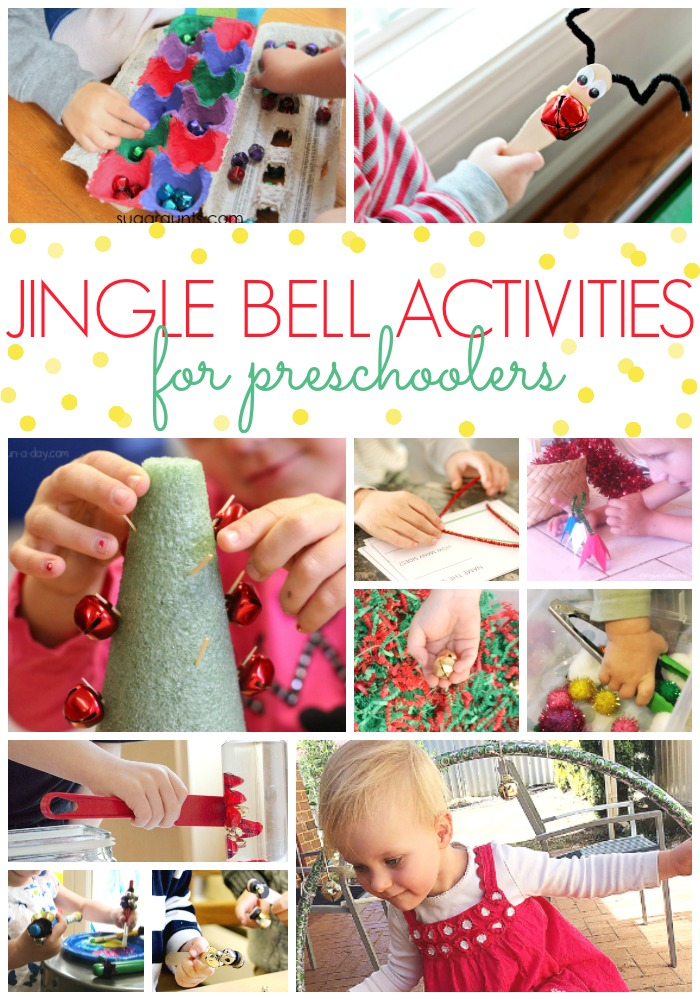Jingle Bell Activities for Preschoolers