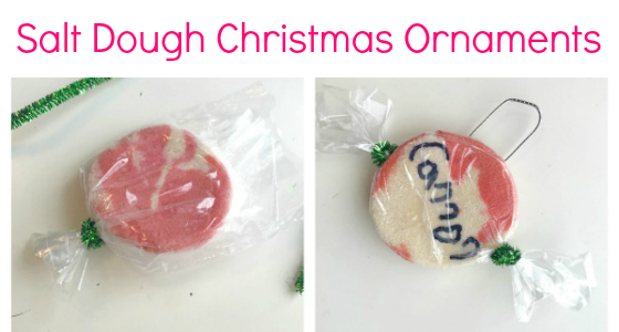 Salt Dough Christmas Ornaments Kids Can Make