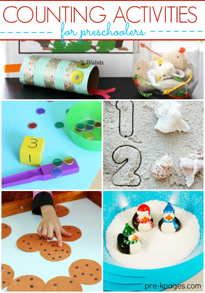 40 Counting Games And Number Activities For Preschoolers