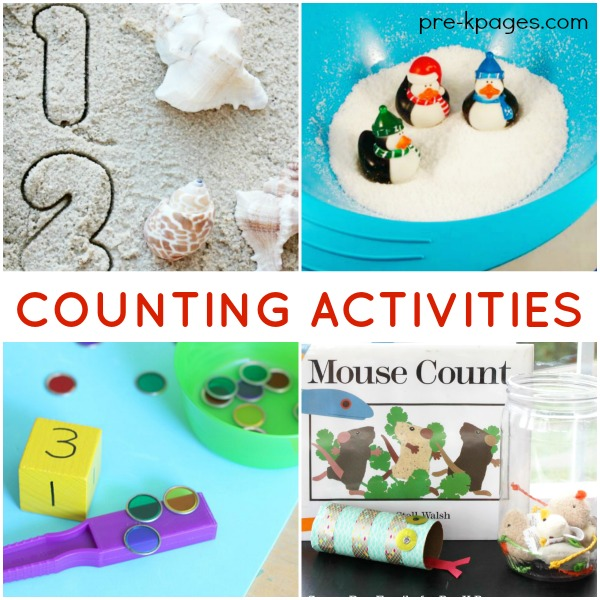 Counting Activities for Preschoolers