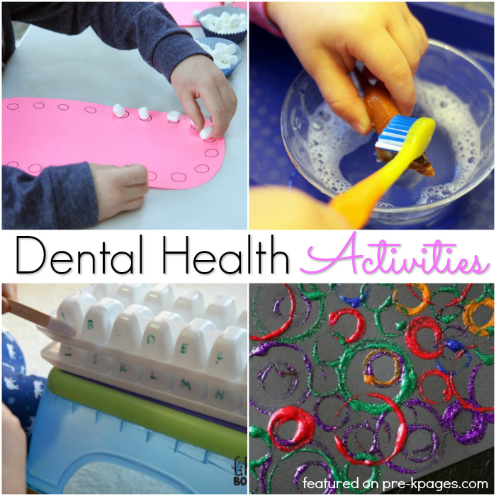 Dental Theme Activities for Preschoolers