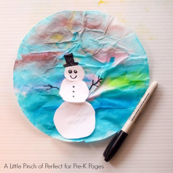 Snowmen at Night book activity