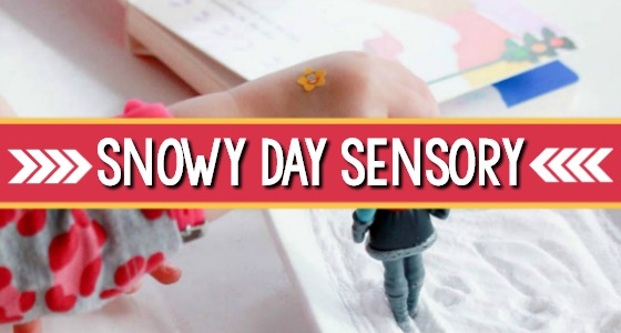 The Snowy Day Sensory Writing Tray