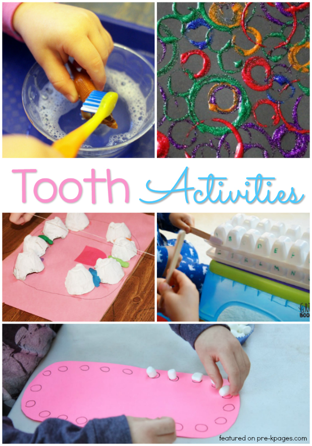 20 Activities for a Dental Health Theme in Preschool - Pre-K ...