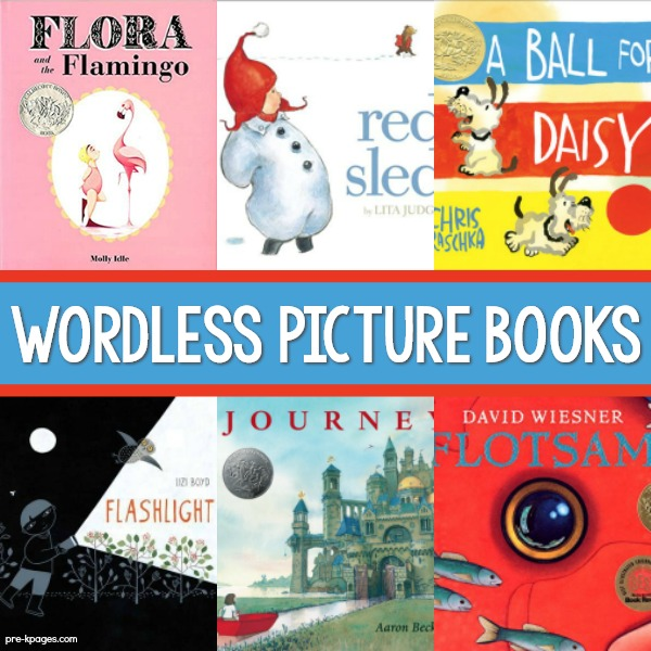 Wordless Picture Books for Preschool