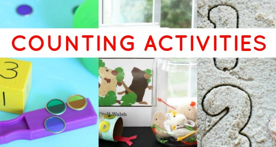 Counting Games and Number Activities for Preschoolers