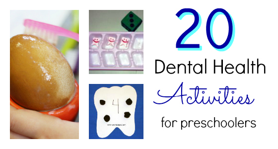 dental health activities for preschool