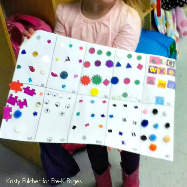 100 Stickers for the 100th Day of School