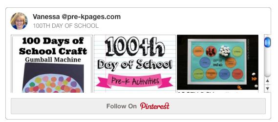 100 day Pinterest