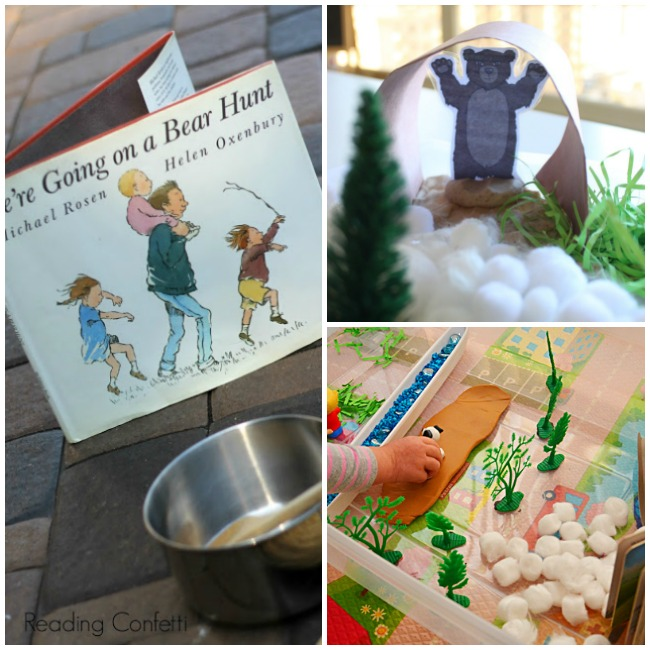 Going on a Bear Hunt Activities for Preschool - Pre-K Pages